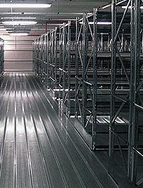 Scaffalature Metalliche Marcegaglia.Dalmine Logistic Solutions Light Bi Bloc Scaffalatura Ad