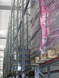 Marcegaglia Scaffalature Rivenditori.Dalmine Logistic Solutions Scaffalature Per Pallet Bi Bloc