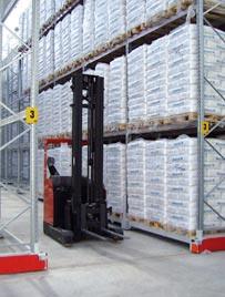 Scaffalature Metalliche Marcegaglia.Dalmine Logistic Solutions Magazzino Compattabile